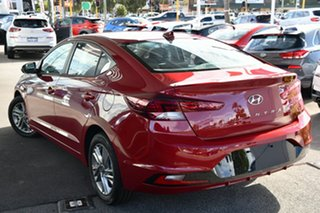 2020 Hyundai Elantra AD.2 MY20 Active Fiery Red 6 Speed Sports Automatic Sedan.
