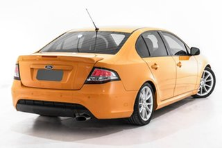 2014 Ford Falcon FG MkII XR6 Orange 6 Speed Sports Automatic Sedan.