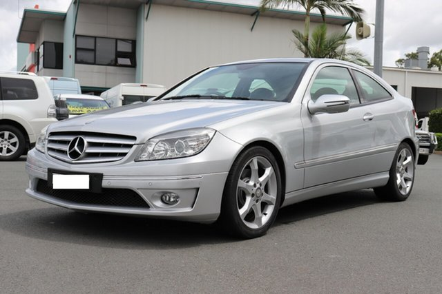 Used Mercedes-Benz CLC-Class CL203 CLC200 Kompressor, 2010 Mercedes-Benz CLC-Class CL203 CLC200 Kompressor Silver 5 speed Automatic Coupe