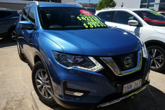 Demo Nissan X-Trail T32 Series II ST-L X-tronic 2WD, 2018 Nissan X-Trail T32 Series II ST-L X-tronic 2WD Marine Blue 7 Speed Constant Variable Wagon