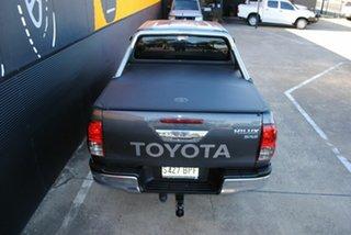 2017 Toyota Hilux GUN126R SR5 Double Cab Graphite Grey 6 Speed Sports Automatic Utility