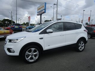 2018 Ford Escape ZG 2018.00MY Trend AWD White 6 Speed Sports Automatic Wagon.