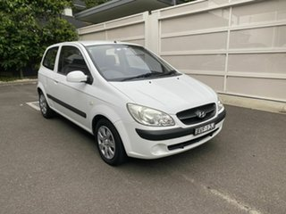 2011 Hyundai Getz TB MY09 S White 5 Speed Manual Hatchback.
