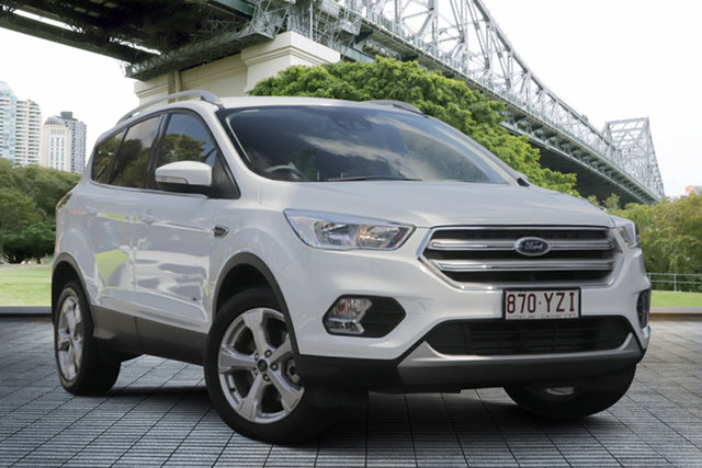 Used Ford Escape ZG 2019.25MY Trend 2WD, 2019 Ford Escape ZG 2019.25MY Trend 2WD White 6 Speed Sports Automatic Wagon