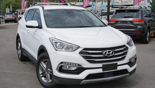 Used Hyundai Santa Fe DM5 MY18 Active, 2017 Hyundai Santa Fe DM5 MY18 Active White 6 Speed Sports Automatic Wagon