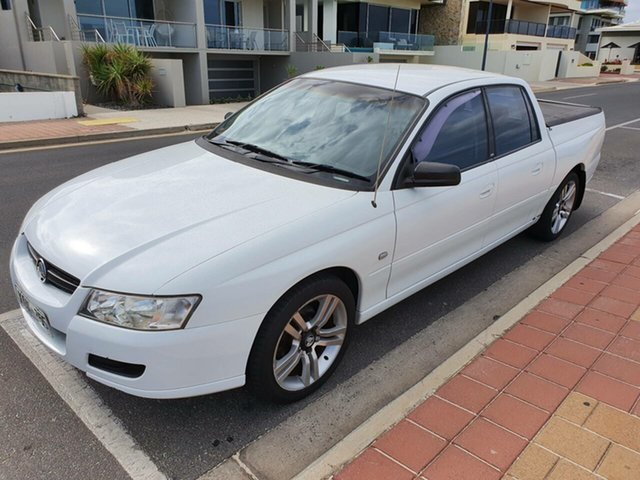 Used Holden Crewman VZ MY06 , 2006 Holden Crewman VZ MY06 Warm White 4 Speed Automatic Utility