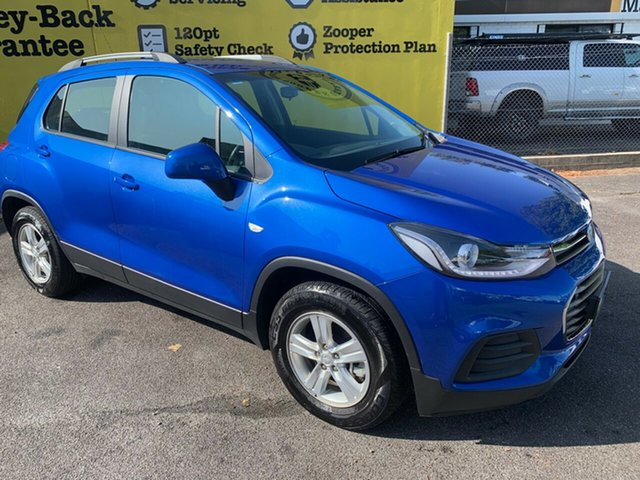 Used Holden Trax TJ MY17 LS, 2017 Holden Trax TJ MY17 LS Boracay Blue 6 Speed Automatic Wagon