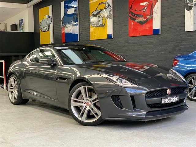 Used Jaguar F-TYPE X152 , 2016 Jaguar F-TYPE X152 Grey Sports Automatic Coupe