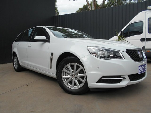 Used Holden Commodore VF II Evoke, 2015 Holden Commodore VF II Evoke White 6 Speed Automatic Sportswagon