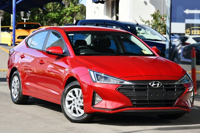 New Hyundai Elantra AD.2 MY20 Go, 2020 Hyundai Elantra AD.2 MY20 Go Fiery Red 6 Speed Sports Automatic Sedan