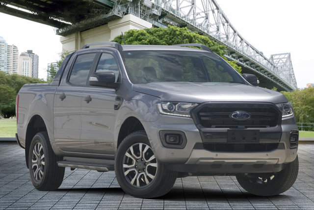 Used Ford Ranger PX MkIII 2019.75MY Wildtrak Pick-up Double Cab, 2019 Ford Ranger PX MkIII 2019.75MY Wildtrak Pick-up Double Cab Silver 6 Speed Sports Automatic