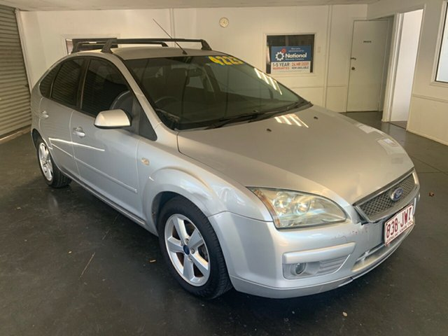 Used Ford Focus LS LX, 2006 Ford Focus LS LX Silver 5 Speed Manual Hatchback