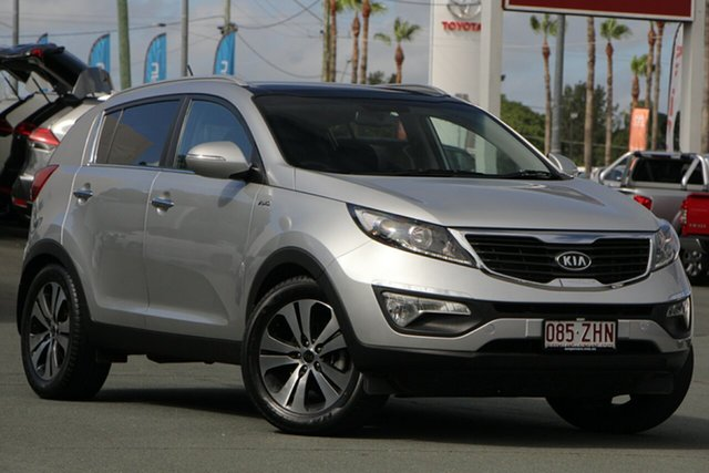 Used Kia Sportage SL MY12 Platinum, 2011 Kia Sportage SL MY12 Platinum Silver 6 Speed Sports Automatic Wagon