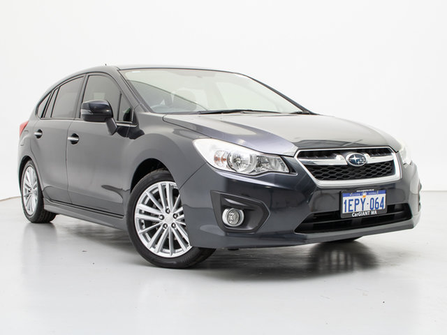 Used Subaru Impreza MY14 2.0I-S (AWD), 2014 Subaru Impreza MY14 2.0I-S (AWD) Grey Continuous Variable Hatchback