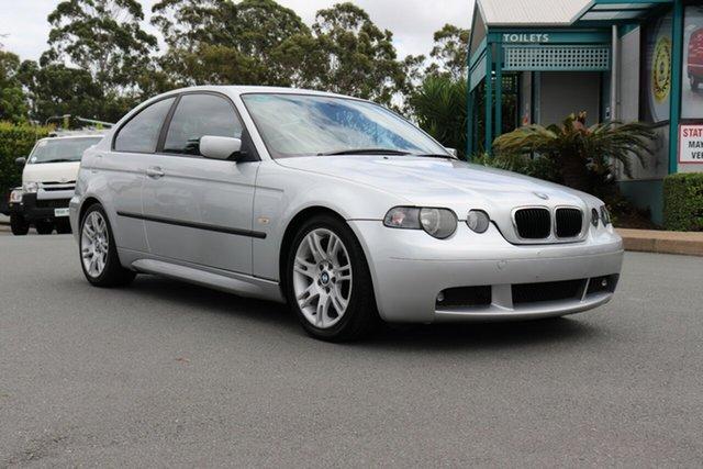 Used BMW 3 Series E46/5 MY04 325ti Steptronic Sport, 2003 BMW 3 Series E46/5 MY04 325ti Steptronic Sport Silver 5 speed Automatic Hatchback