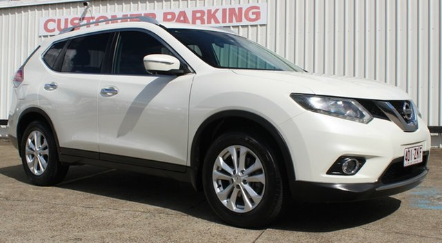 Used Nissan X-Trail T32 ST-L X-tronic 2WD, 2014 Nissan X-Trail T32 ST-L X-tronic 2WD White 7 Speed Constant Variable Wagon