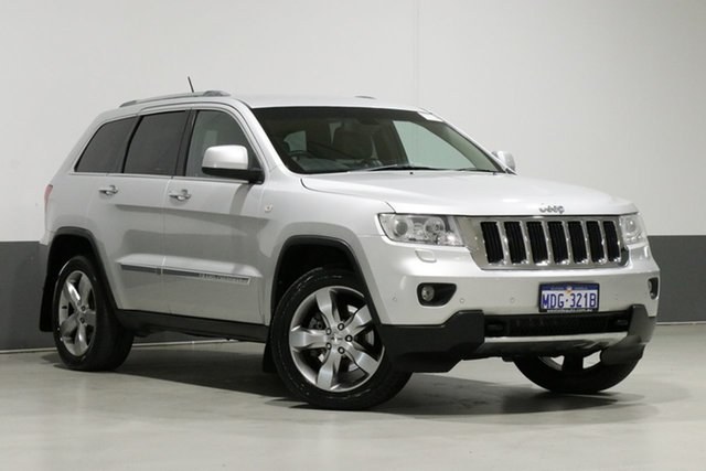 Used Jeep Grand Cherokee WH MY08 Limited (4x4), 2011 Jeep Grand Cherokee WH MY08 Limited (4x4) Silver 5 Speed Automatic Wagon