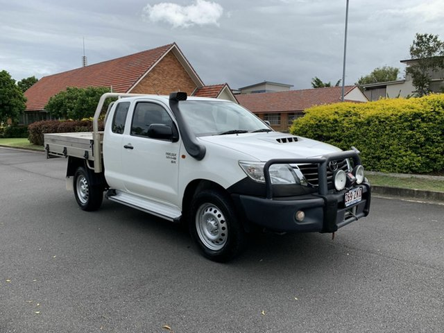 Used Toyota Hilux KUN26R SR, 2014 Toyota Hilux KUN26R SR White 5 Speed Manual Extracab
