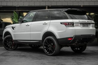 2014 Land Rover Range Rover Sport L494 MY14.5 SE White 8 Speed Sports Automatic Wagon.