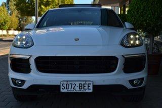 2015 Porsche Cayenne 92A MY15 Tiptronic White 8 Speed Sports Automatic Wagon.