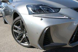 2018 Lexus IS GSE31R IS350 F Sport Silver 8 Speed Sports Automatic Sedan.