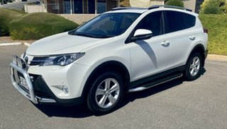 2013 Toyota RAV4 ASA44R Cruiser AWD White 6 Speed Sports Automatic Wagon