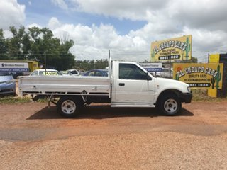 1998 Holden Rodeo White 4 Speed Automatic Utility.