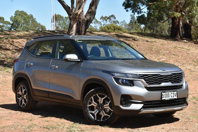 Demo Kia Seltos SP2 MY20 Sport 2WD, 2019 Kia Seltos SP2 MY20 Sport 2WD Steel Grey 1 Speed Constant Variable Wagon