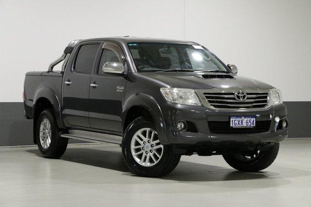 Used Toyota Hilux KUN26R MY14 SR5 (4x4), 2015 Toyota Hilux KUN26R MY14 SR5 (4x4) Graphite 5 Speed Automatic Dual Cab Pick-up