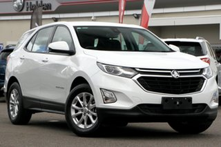 2018 Holden Equinox EQ MY18 LS+ FWD White 6 Speed Sports Automatic Wagon.