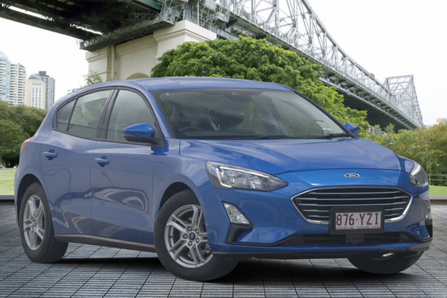 Used Ford Focus SA 2019.25MY Trend, 2019 Ford Focus SA 2019.25MY Trend Blue 8 Speed Automatic Hatchback