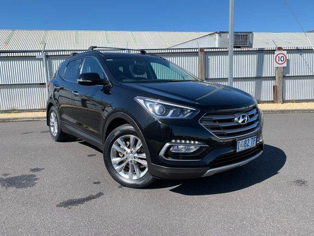 Used Hyundai Santa Fe DM3 MY16 Elite, 2015 Hyundai Santa Fe DM3 MY16 Elite Black 6 Speed Sports Automatic Wagon
