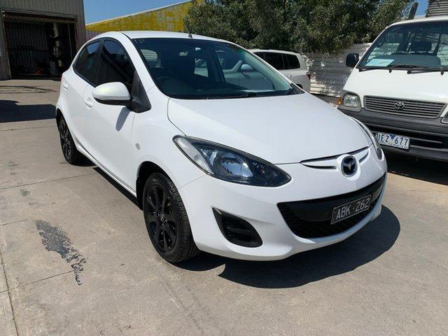 Used Mazda 2 DE10Y2 MY14 Maxx Sport, 2014 Mazda 2 DE10Y2 MY14 Maxx Sport White 4 Speed Automatic Hatchback