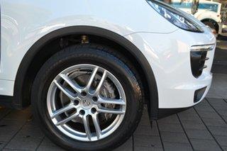 2015 Porsche Cayenne 92A MY15 Tiptronic White 8 Speed Sports Automatic Wagon