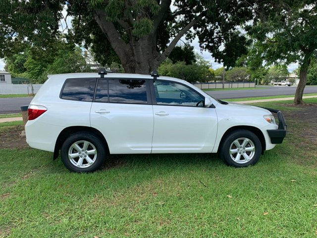 Used Toyota Kluger GSU45R KX-R AWD, 2010 Toyota Kluger GSU45R KX-R AWD White 5 Speed Sports Automatic Wagon