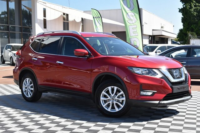 Used Nissan X-Trail T32 Series II ST-L X-tronic 2WD, 2019 Nissan X-Trail T32 Series II ST-L X-tronic 2WD Ruby Red 7 Speed Constant Variable Wagon