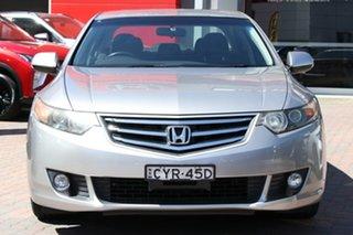 2010 Honda Accord Euro CU MY11 Silver 5 Speed Automatic Sedan