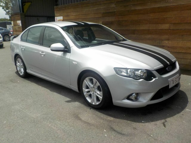 Used Ford Falcon FG XR6, 2008 Ford Falcon FG XR6 Silver 5 Speed Sports Automatic Sedan