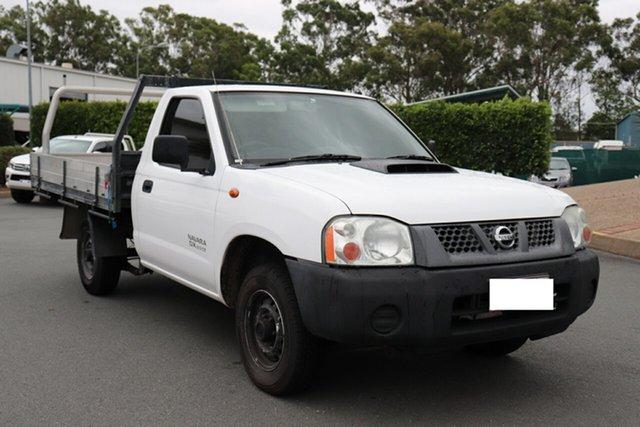 Used Nissan Navara D22 MY2009 DX 4x2, 2010 Nissan Navara D22 MY2009 DX 4x2 White 5 speed Manual Cab Chassis