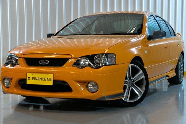 Used Ford Falcon BF Mk II XR6, 2007 Ford Falcon BF Mk II XR6 Orange 6 Speed Sports Automatic Sedan