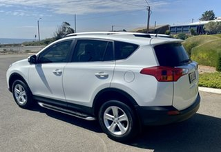 2013 Toyota RAV4 ASA44R Cruiser AWD White 6 Speed Sports Automatic Wagon.