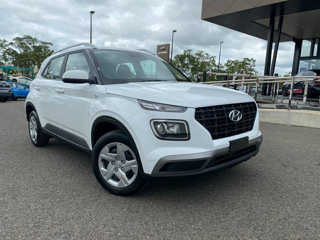 New Hyundai Venue QX Go, 2019 Hyundai Venue QX Go White Manual Wagon