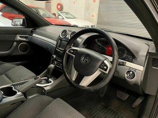 2011 Holden Commodore VE II SV6 Black 6 Speed Sports Automatic Sedan