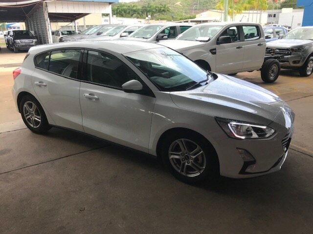Used Ford Focus SA 2019.25MY Trend, 2019 Ford Focus SA 2019.25MY Trend Frozen White 8 Speed Automatic Hatchback