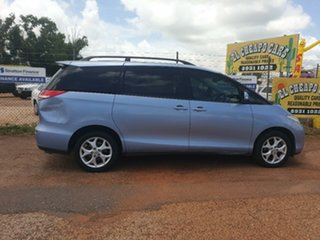 2008 Toyota Tarago Blue 4 Speed Automatic Wagon.