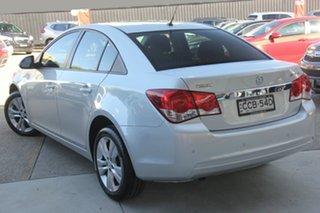 2015 Holden Cruze JH MY15 Equipe Silver 6 Speed Automatic Sedan.