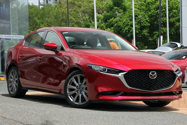 New Mazda 3 BP2S76 G20 SKYACTIV-MT Touring, 2019 Mazda 3 BP2S76 G20 SKYACTIV-MT Touring Soul Red Crystal 6 Speed Manual Sedan