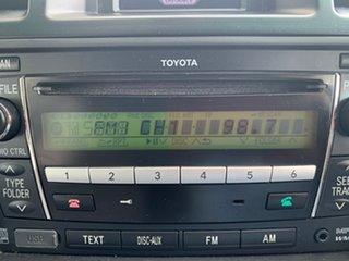 2010 Toyota Kluger GSU45R KX-R AWD White 5 Speed Sports Automatic Wagon