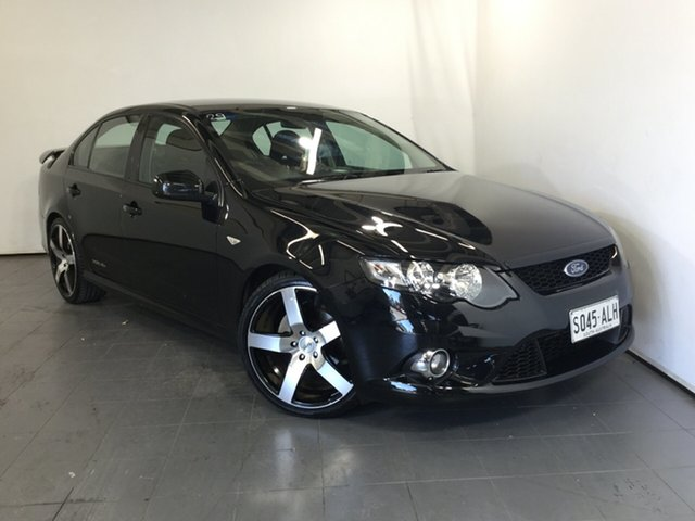 Used Ford Falcon FG XR6, 2011 Ford Falcon FG XR6 Black 6 Speed Sports Automatic Sedan