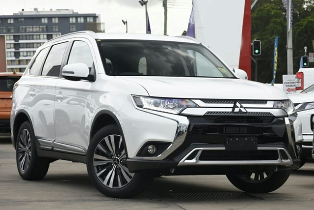 New Mitsubishi Outlander ZL MY20 LS 2WD, 2019 Mitsubishi Outlander ZL MY20 LS 2WD Starlight 6 Speed Constant Variable Wagon